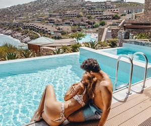 goals, couple, and summer image