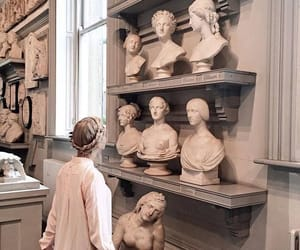 sculpture, art, and girl image