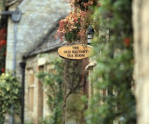 tea room and england image