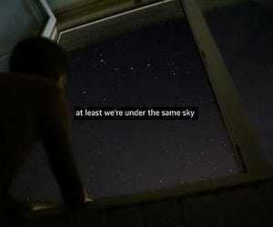 sky, love, and miss image