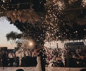 lights, wedding, and love image