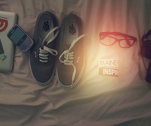vans, shoes, and blackberry image