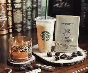 autumn, starbucks, and candle image