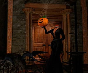 Halloween, orange, and pumpkin image