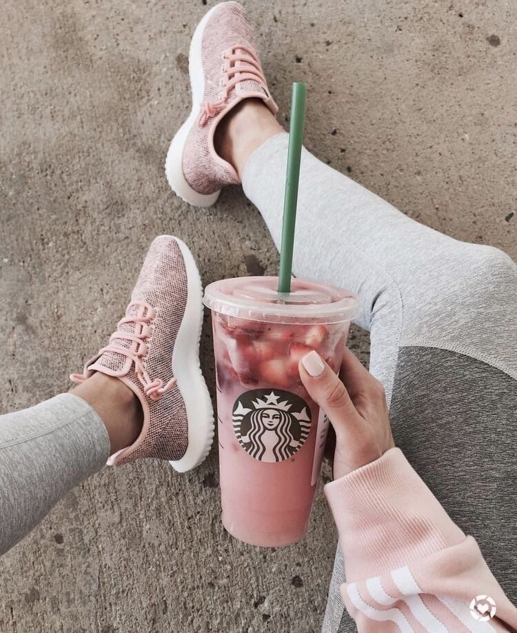 Starbucks Pink And Drink Image