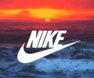 nike, sun, and wallpaper image
