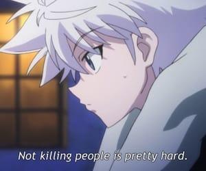 anime, hxh, and killua image