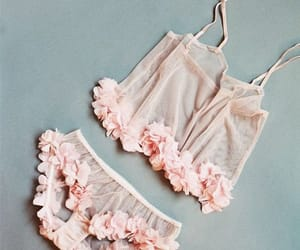 lingerie, fashion, and pink image