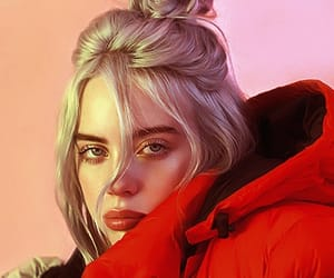 billie eilish, girl, and billie image