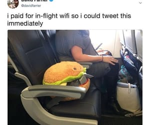 burger, funny, and plushie image