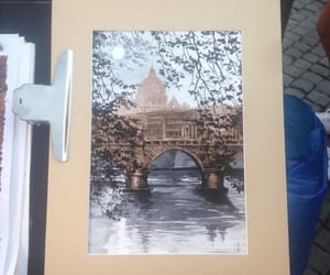 drawing, italy, and painting image