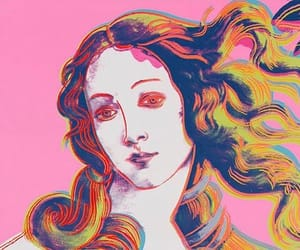 colors, pink, and woman image