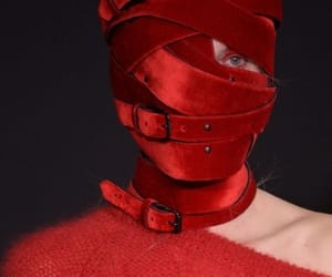 details, fashion, and red image