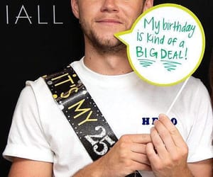 niall horan, one direction, and happy birthday image