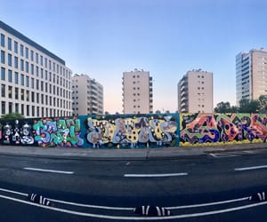 Barcelona, graffiti, and spain image