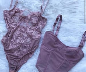 beauty, fashion, and lingerie image