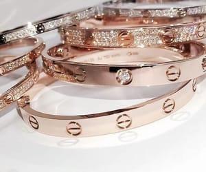 bracelet, luxury, and cartier image