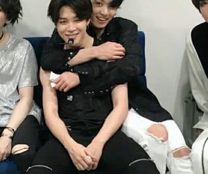 bts, jungkook, and jimin image