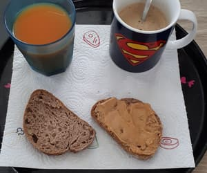 bread, coffee, and france image