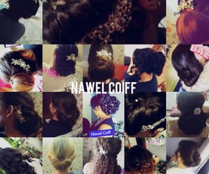 coiffure, oriental, and marier image