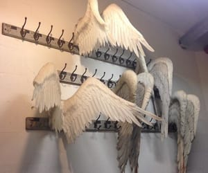 angel, aesthetic, and wings image