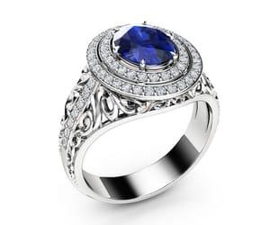 gemstone ring, halo engagement ring, and vintage engagement image