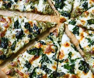pizza and pesto image