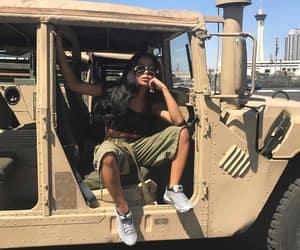 car, Dubai, and girl image