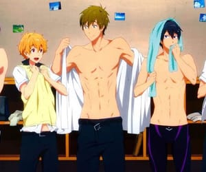 anime, rei, and rin image