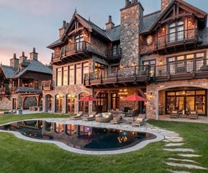 mansion, architecture, and awesome image