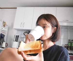 breakfast, drink, and eat image