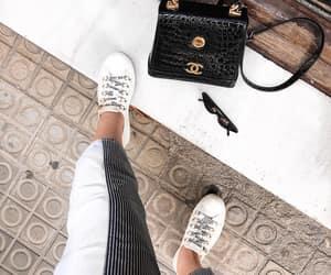 fashion, handbag, and shoes image