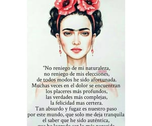 love, frases, and Frida image