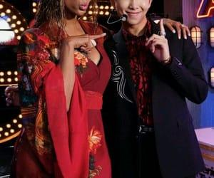 k-pop, namjoon, and tyra banks image
