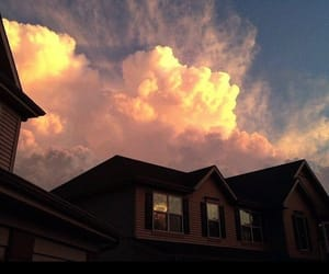 sky, aesthetic, and house image