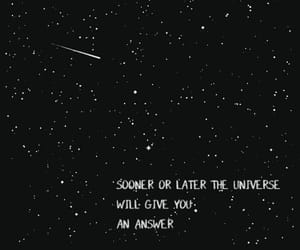 stars, black and white, and frase image