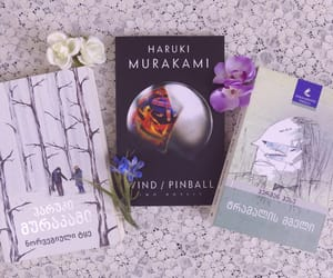 haruki murakami, books, and hermann hesse image