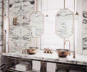 interior, bathroom, and luxury image