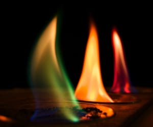 fire, flame, and photography image