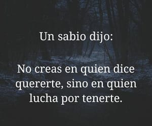 triste, sabio, and frases image