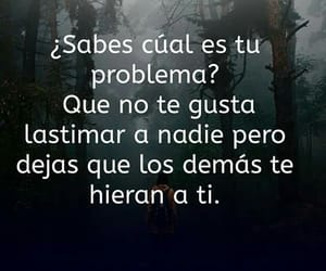 triste, problema, and frases image