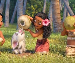 disney movie, disney animation, and disney moana image