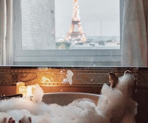 paris, bath, and chill image