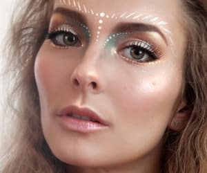 fairy, makeup, and glossy image
