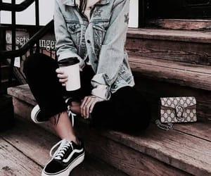 fashion, vans, and girl image