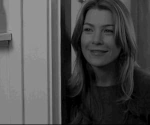 black and white, ellen pompeo, and greys anatomy image