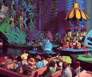 carnival, rides, and it's a small world image