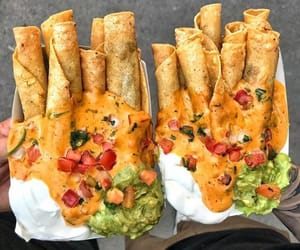 food, taquitos, and delicious image