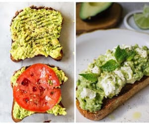 article, avocado toast, and healthy food image