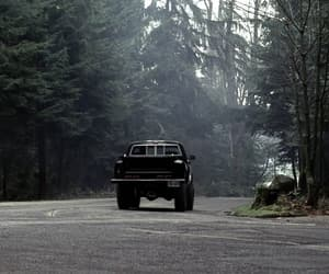car, forest, and tv series image